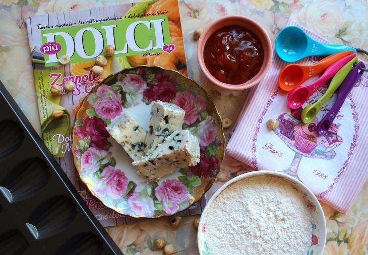 ingredienti per preparare le madeleines