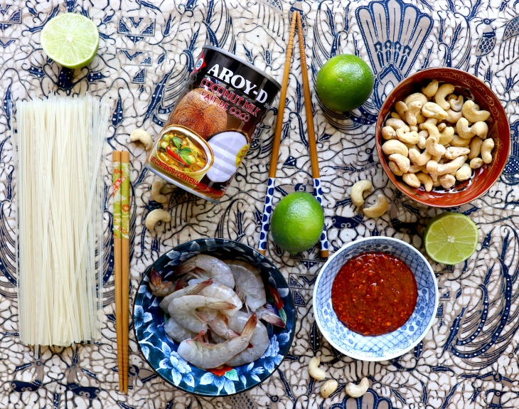 ingredienti-per-la-zuppa-di-noodle-thai