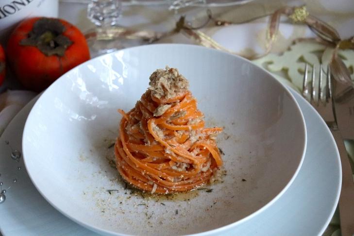 Linguine-all-arancia-e-ventrescatto