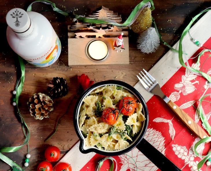 ricetta-farfalle-roquefort-e-cime-di-rapa-e-olio-guglielmi