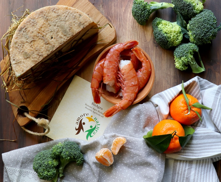 ricetta-capra-gamberi-broccoli-al-mandarino